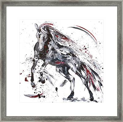 Shadow Framed Print by Penny Warden