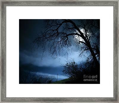Shadowlands 3 Framed Print by Bedros Awak