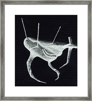 Shadows Space Framed Print by Giuseppe Epifani