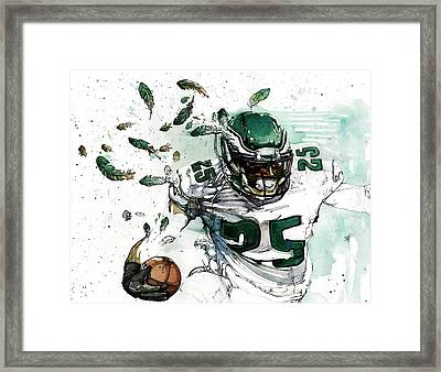 Shady Mccoy Framed Print by Michael  Pattison