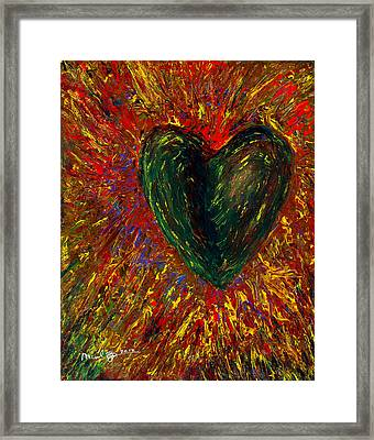 Shaking It Off Framed Print by Michael Spencer