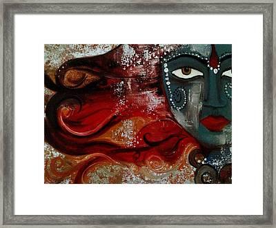 Shakti Framed Print by Bimi Felix