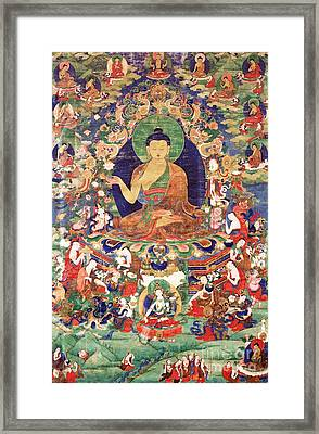 Shakyamuni Buddha Framed Print by Pg Reproductions