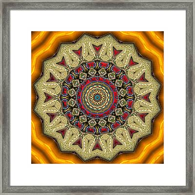 Shall We Dance 1 Framed Print by Wendy J St Christopher