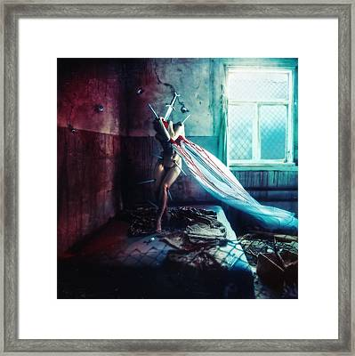 Shame Framed Print by Mario Sanchez Nevado