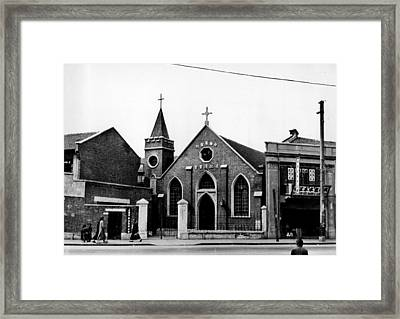 Shanghai Church Framed Print by Retro Images Archive