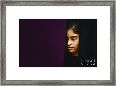 Shanti Shanti Shanti Framed Print by Tim Gainey
