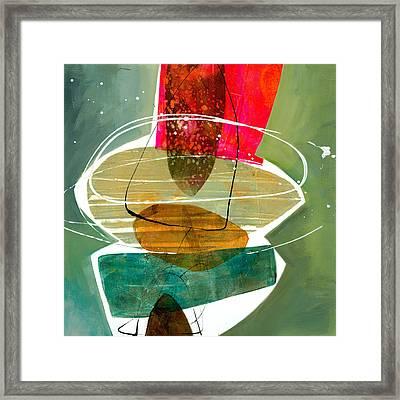 Shape 28 Framed Print by Jane Davies