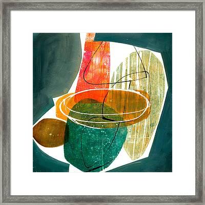 Shape 29 Framed Print by Jane Davies