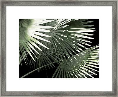 Shapes Of Hawaii Framed Print by Ellen Cotton