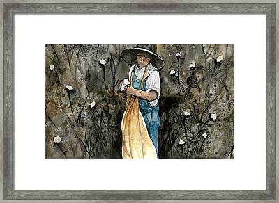 Sharecroppers Son Framed Print by Kim Whitton