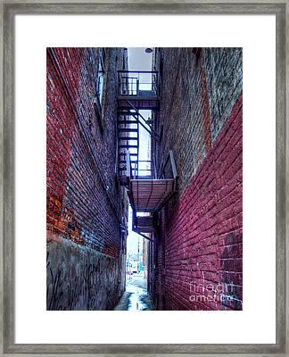 Shared Escape Framed Print by MJ Olsen