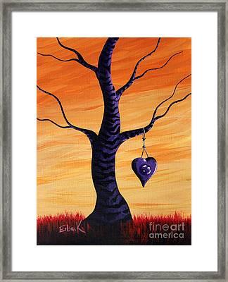 Sharing My Imagination By Shawna Erback Framed Print by Shawna Erback
