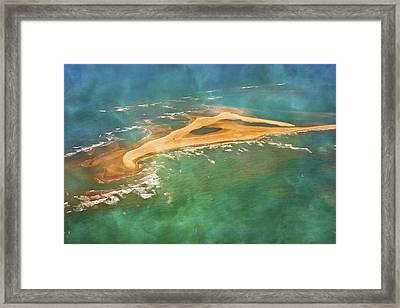 Shark Island Nc Framed Print by Betsy C Knapp