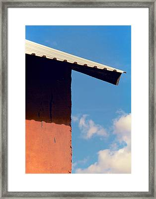 Sharp Edge Framed Print by Odd Jeppesen