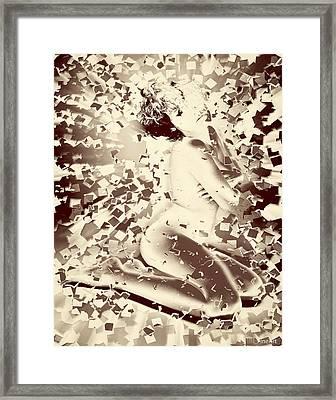 Shattered Dreams Framed Print by Yvon van der Wijk