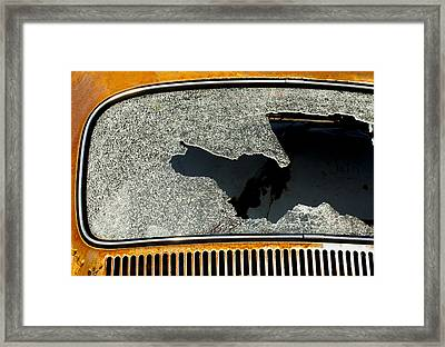 Shattered Pieces Framed Print by Fran Riley