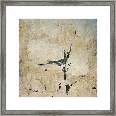 She Flies Framed Print by Carol Leigh