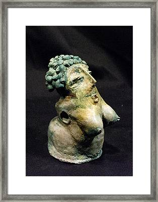 She Patina No 2 Framed Print by Mark M  Mellon