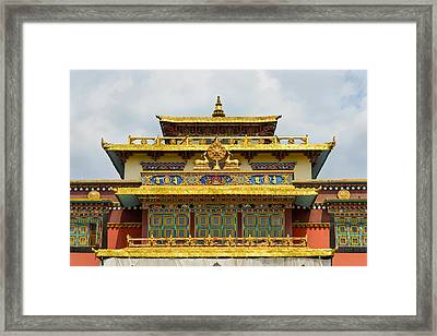 Shechen Monastery In Kathmandu Framed Print by Dutourdumonde Photography