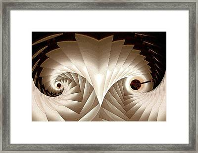 Shedding Framed Print by Ron Bissett