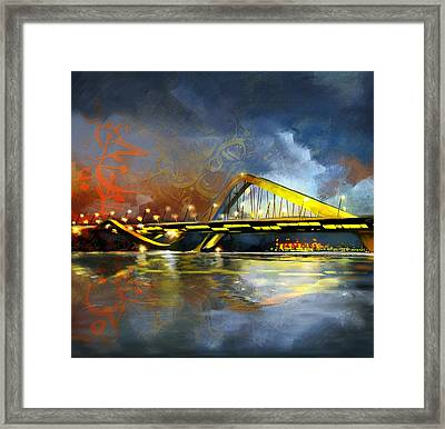 Sheikh Zaed Bridge Framed Print by Corporate Art Task Force
