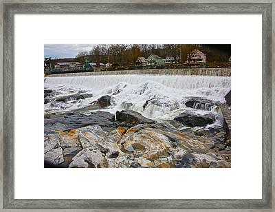 Shelburne's Falls Framed Print by Randi Shenkman