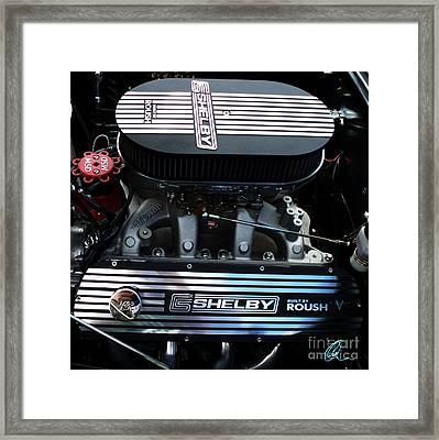 Shelby By Roush Framed Print by Chris Thomas
