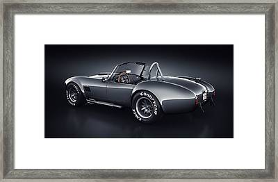 Shelby Cobra 427 - Venom Framed Print by Marc Orphanos