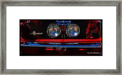 Shelby Gt 500 Mustang 2 Framed Print by Tommy Anderson