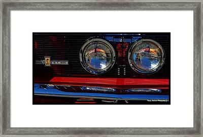 Shelby Gt 500 Mustang 3 Framed Print by Tommy Anderson