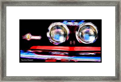 Shelby Gt 500 Mustang 5 Framed Print by Tommy Anderson