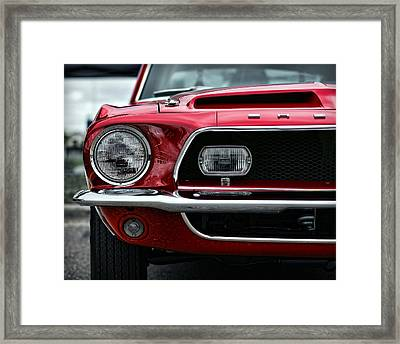 Shelby Mustang Framed Print by Gordon Dean II