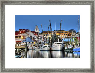 Shem Creek Framed Print by Dale Powell