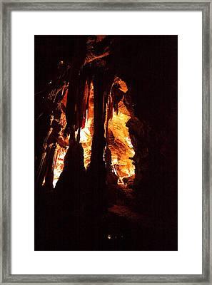 Shenandoah Caverns - 121247 Framed Print by DC Photographer