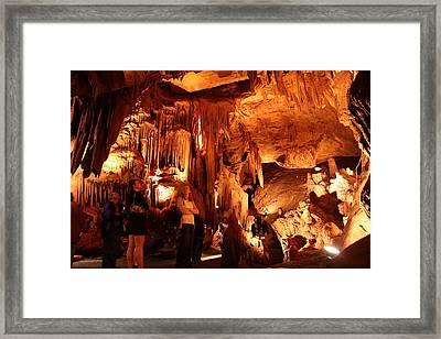 Shenandoah Caverns - 121261 Framed Print by DC Photographer
