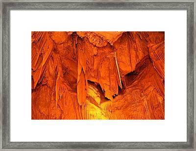 Shenandoah Caverns - 121266 Framed Print by DC Photographer