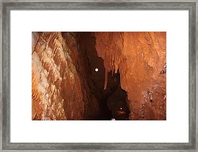 Shenandoah Caverns - 121282 Framed Print by DC Photographer