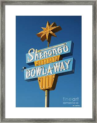 Shenango Bowl-a-way Framed Print by Jim Zahniser