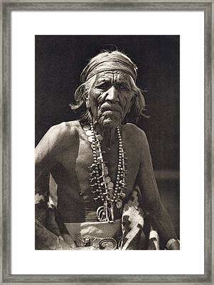 Shepherd Of The Hills, Navajo Framed Print by Underwood Archives