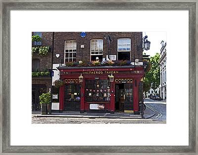 Shepherd's Tavern Framed Print by Cheri Randolph