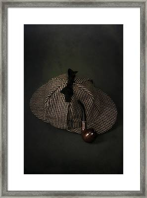 Sherlock Holmes Framed Print by Joana Kruse