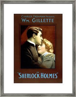 Sherlock Holmes Framed Print by Terry Reynoldson