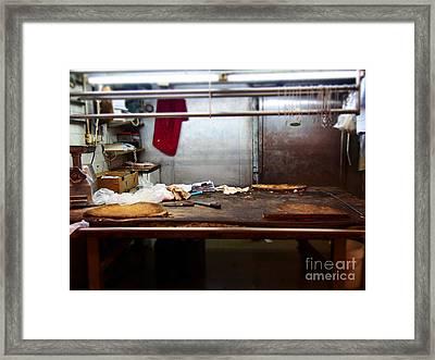 Sheung Wan Market Framed Print by LoveDutchArt By Ebs