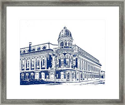 Shibe Park 2 Framed Print by John Madison