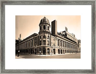 Shibe Park  Framed Print by Bill Cannon