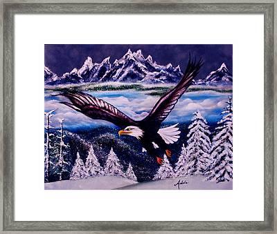 Shiloh Framed Print by Adele Moscaritolo