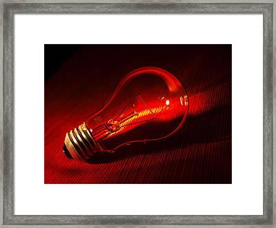 Shimmer Framed Print by Tom Druin