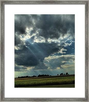 Shine Framed Print by Dan Sproul