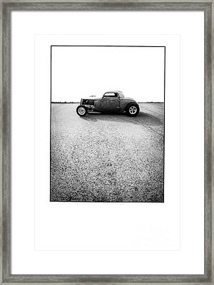 Shine - Metal And Speed Framed Print by Holly Martin